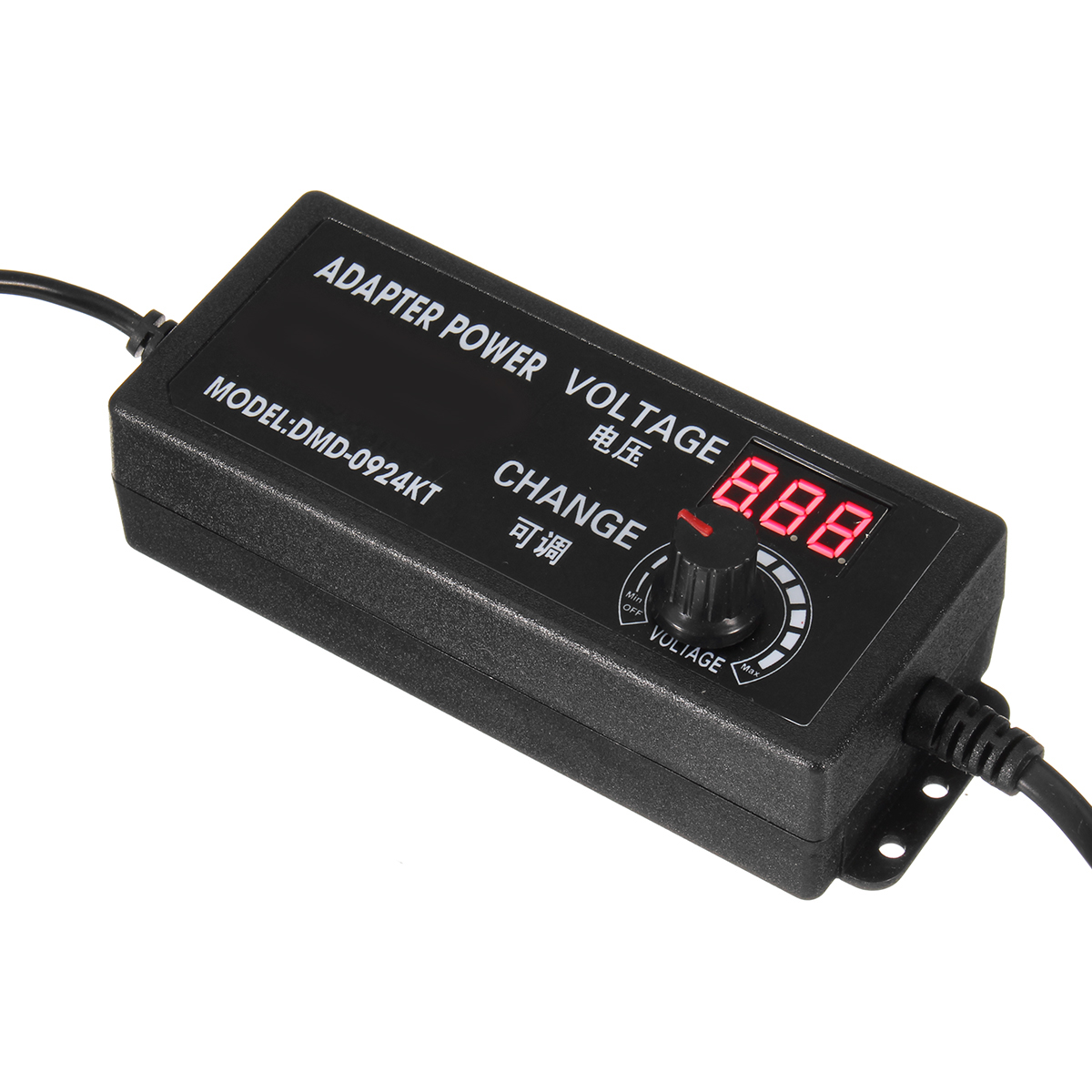 9-24V 2.5A 60W Speed Control Volt AC/DC Adjustable Power Adapter Supply with Display
