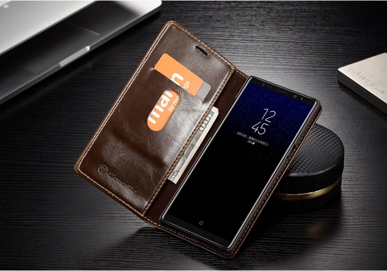 Caseme Magnetic Flip Wallet Kickstand Case For Samsung Galaxy Note 8