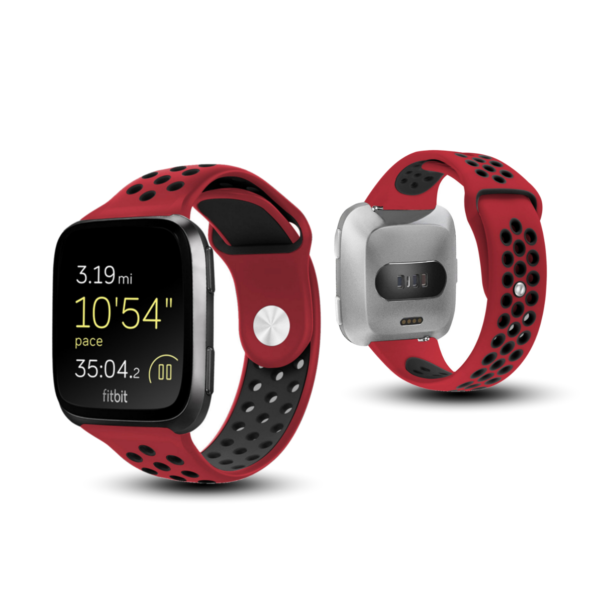 Replacement 20mm Silicone Strap BandsFor Fitbit Versa Fitness Smart Watch