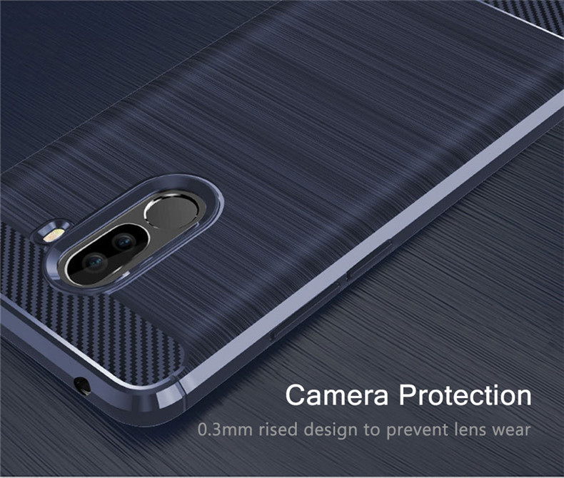 Bakeey™ Shockproof Soft TPU Back Cover Protective Case for Xiaomi Pocophone F1