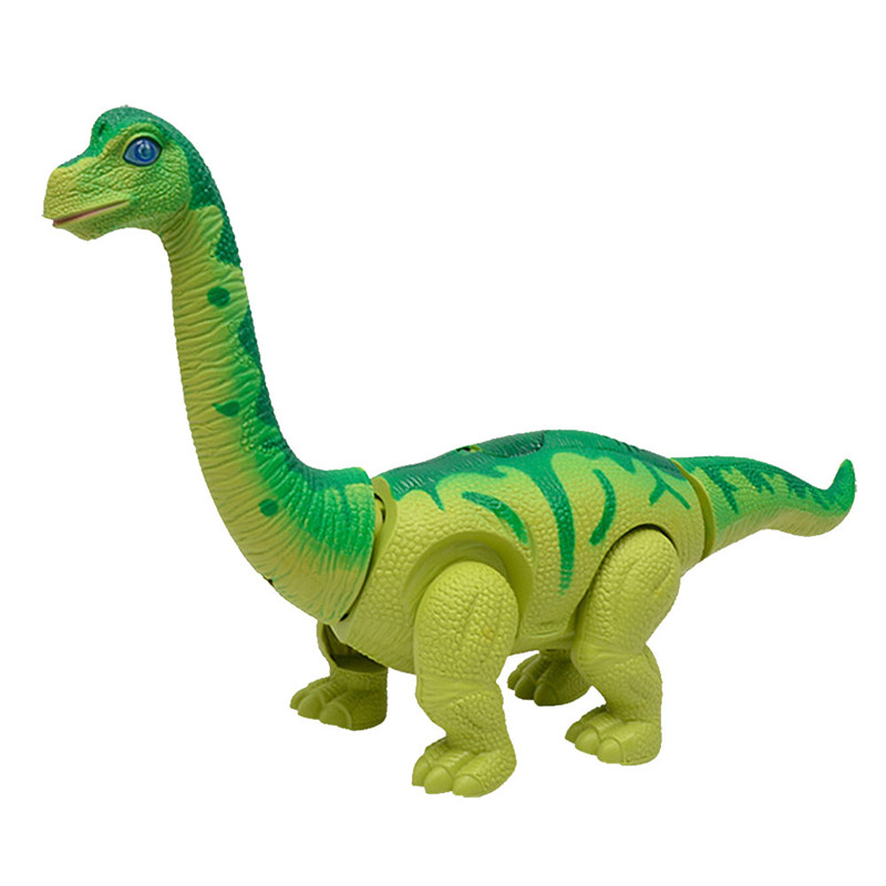 Electric Walking Laying Eggs Dinosaur Robot Model With Light Sound For Kids Children Gift Toys