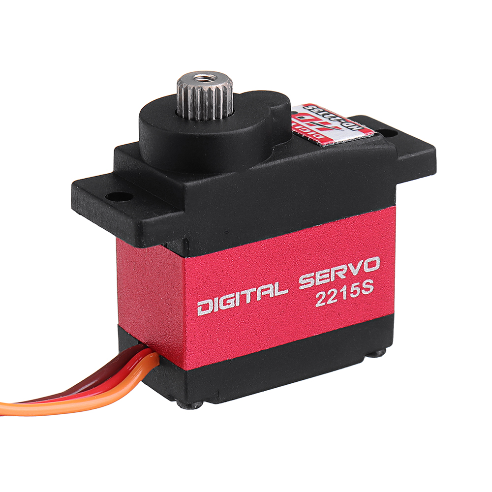 Power HD-2215S Digital Servo Metal Gear For ALZRC 450L 470L GAUI X3 QFQ3 RC Helicopter - Photo: 2