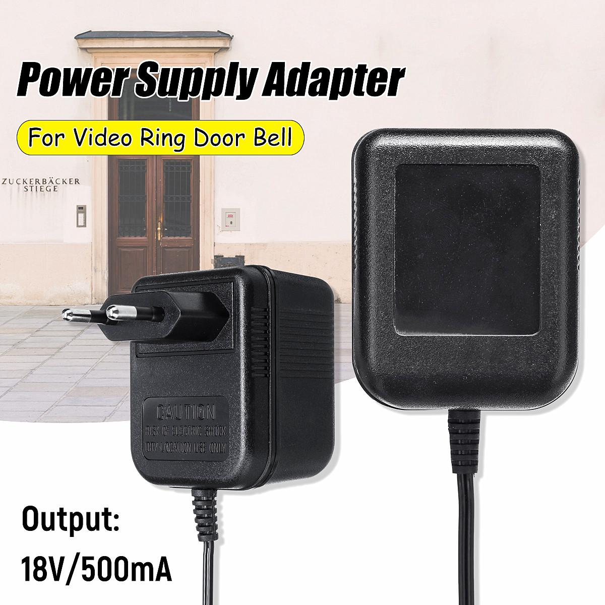 AC220V Power Supply Adapter for Video Ring Doorbell EU Plug