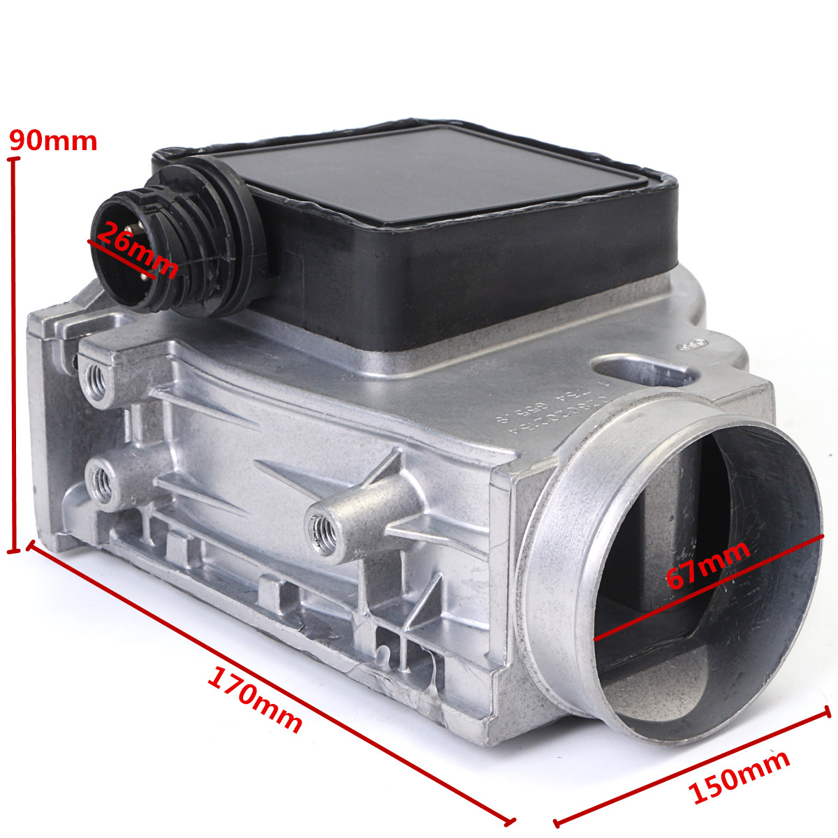 Mass Air Flow Meter Sensor For BMW E30 E36 E34 Z3 318i 318ti 318is 1.8 518i
