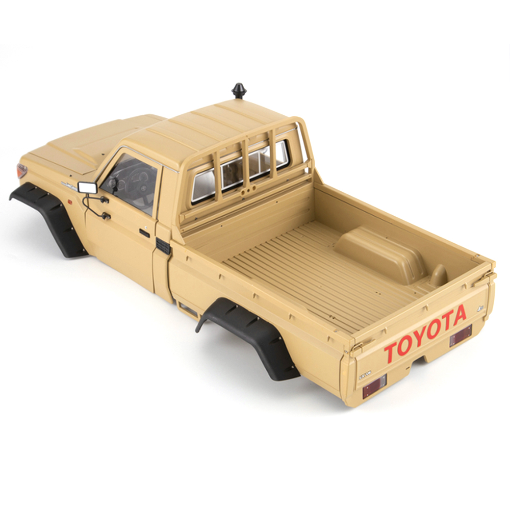 Killerbody LC70 1/10 Land Cruiser 70 Hard RC Car Body Shell Kit Fit For Traxxas TRX4 Chassis