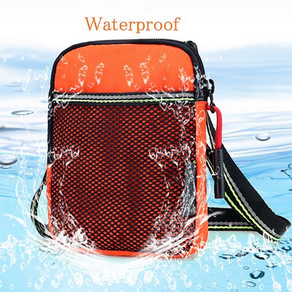 Women Casual Nylon Waterproof Light Mini Crossbody Bag Multi-Bag