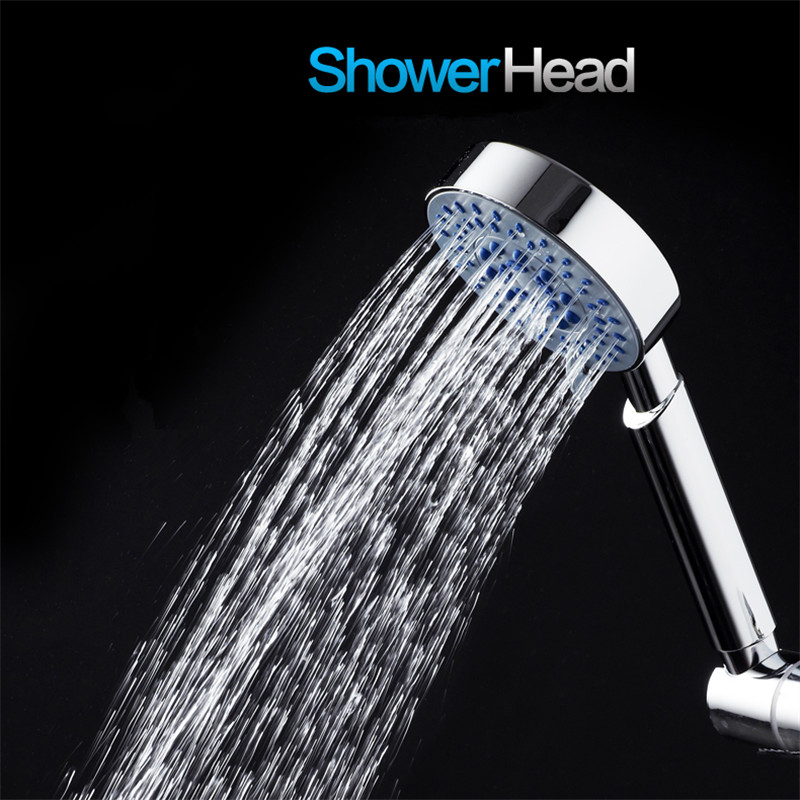KCASA KC-SH436 Handheld 5 Modes Adjustable Shower Head SPA Pressurize Filtered Bathroom Shower Head