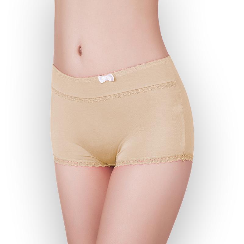 Cozy Mid Rise Elastic Woman Boy Leg Underwear
