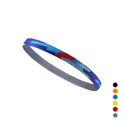 TE560 Outdoor Sport Head Band Absorb Sweat Printing Cycling Playing Ball Fitness Yoga Hair Band