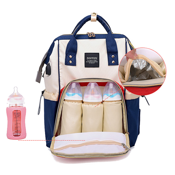 Large Capacity Diaper Bag Mommy Handbag Shoulder Bag Backpack For Women