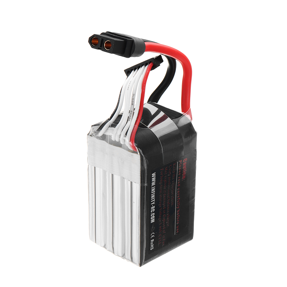 AHTECH Infinity 22.2V 1150mAh 120C-240C 6S Lipo Battery XT60H-F for RC Drone FPV Racing Multi Rotor - Photo: 6