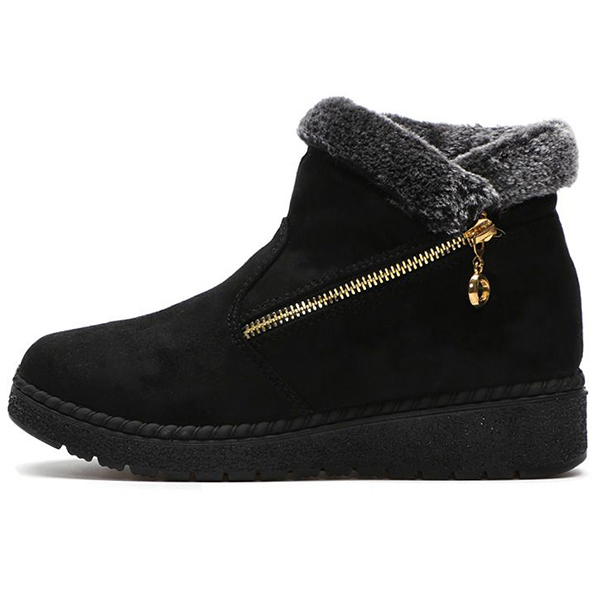 Winter Casual Slip On Boots