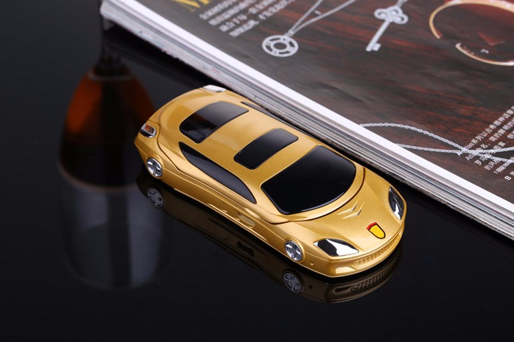 NEWMIND F15 Flip Cellphone 1.8'' 800mAh Flashlight Mp4 FM Radio Dual Sim Car Model Mini Card Phone