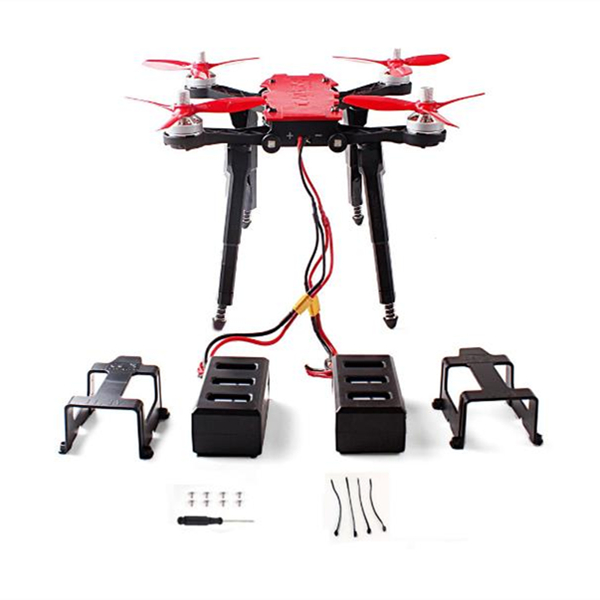 2PCS Spring Tripod Landing Gear Lipo Battery Sets for MJX B8PRO RC Drone Quadcopter
