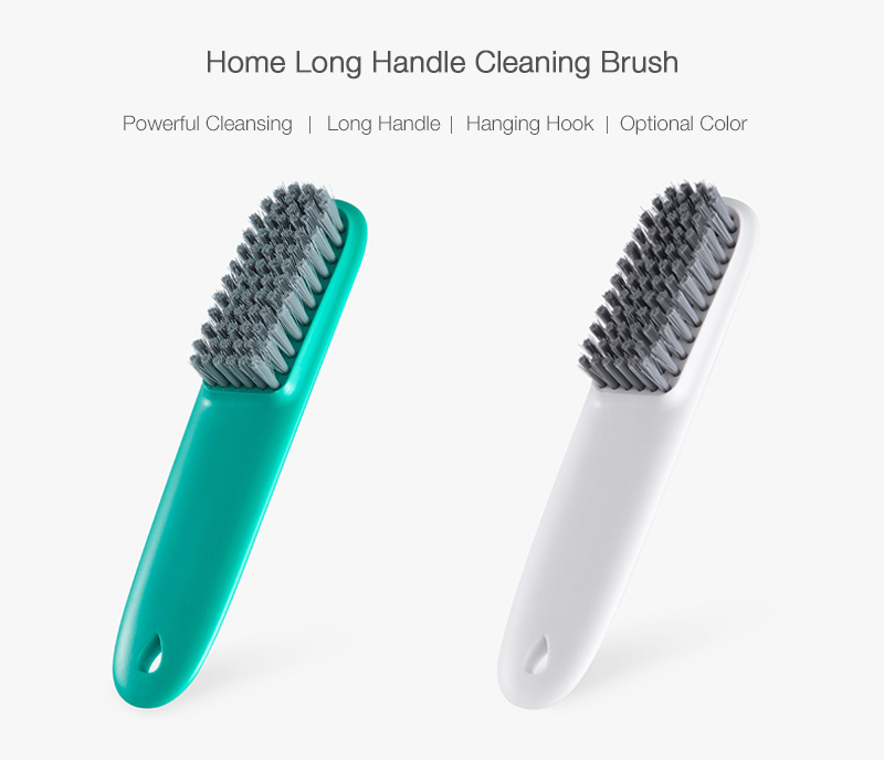 Home Portable Multifunctional Easy Washing Tool Quick Foaming Durable Long Handle Shoes Cleaning Brush