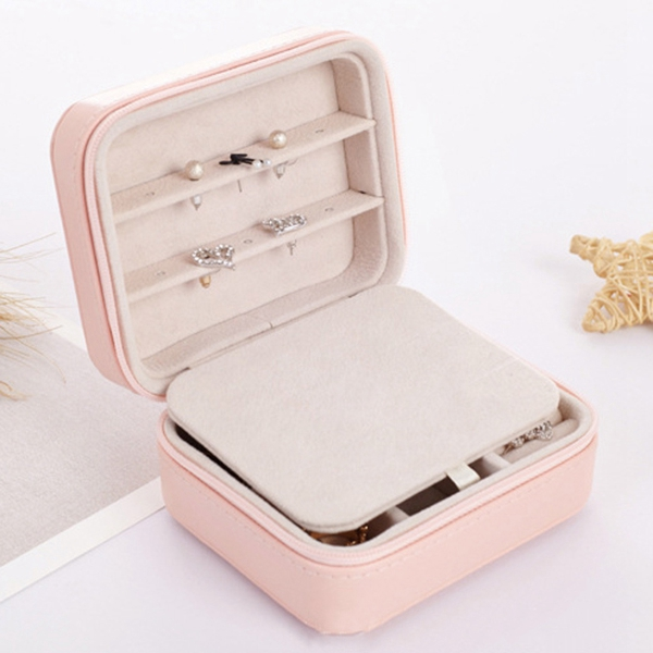 Women Travel Portable Jewelry Storage Bag Small Earrings Sto