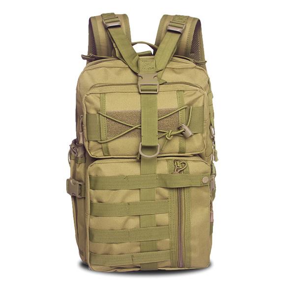 Men Nylon Waterproof Multifunction Capacity Tactical Backpack Outdoor Travel Hiking Shoulder Bag