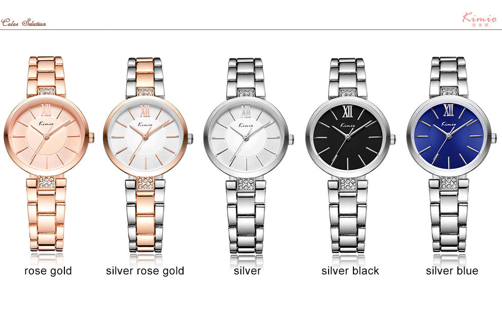 KIMIO KW6133S Fashion Women Quartz Watch