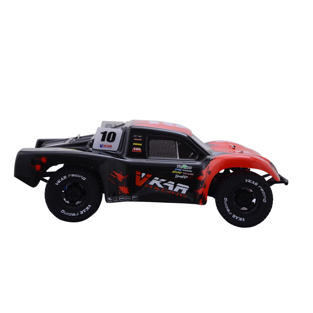 Vkar 61101 SCT X 10 V2 1/10 2.4G 4WD 545*300*178mm Brushless Rc Car 80km/h Short Course Truck RTR