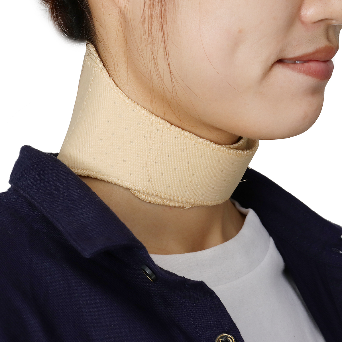 Therapy Wrap Protect Tourmaline Belt Magnetic Neck Brace