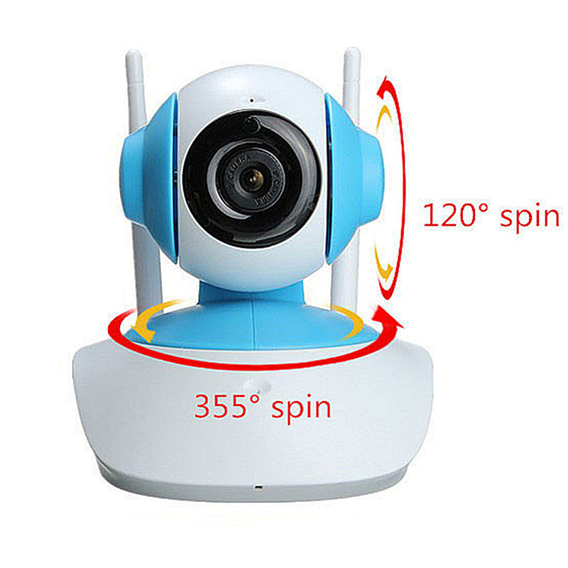 Wireless WiFi 720P HD Network CCTV HOME Security IP Camera