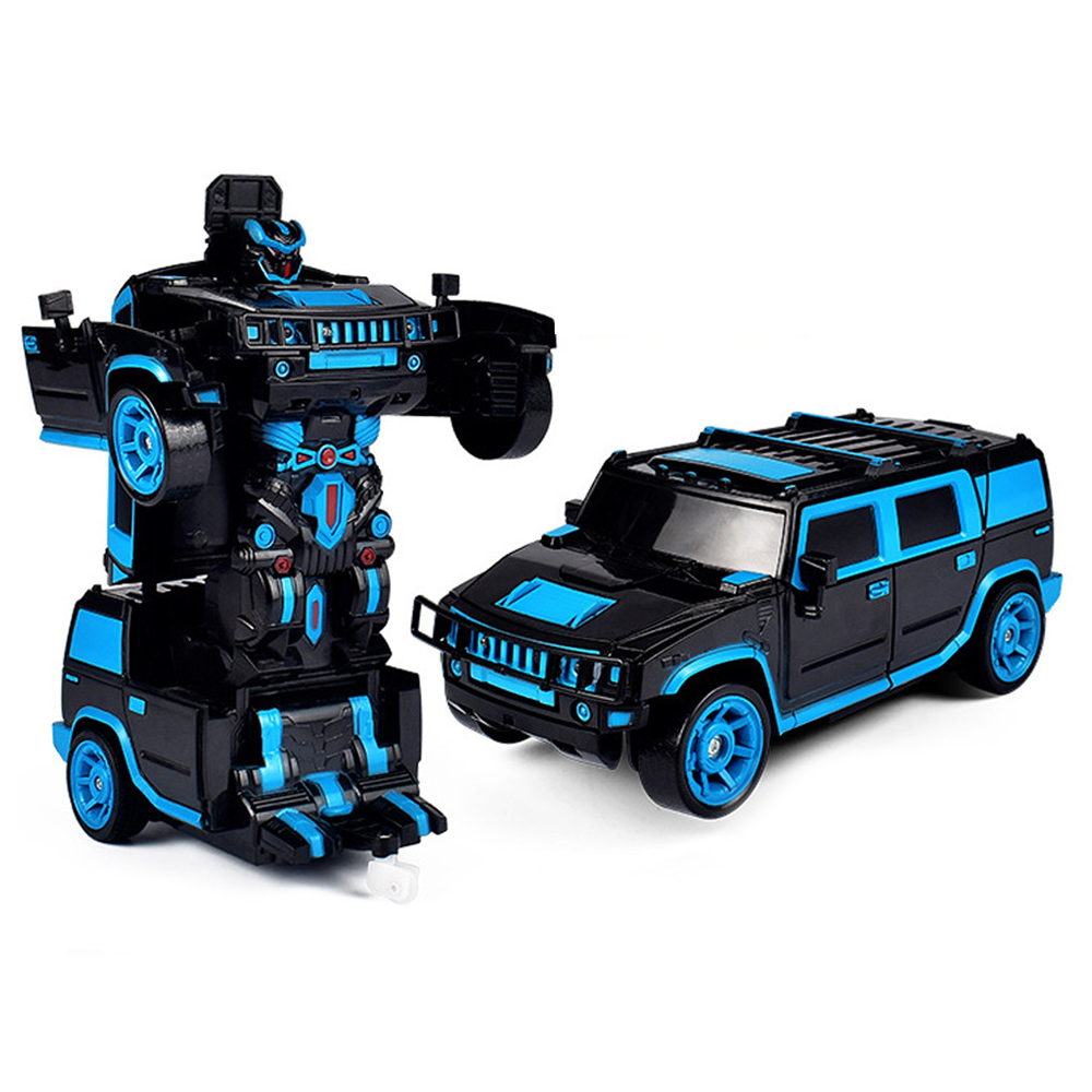 1/18 2 In 1 Rc Car Sports Wireless Transformation Robot Models Deformation Fighting Toys