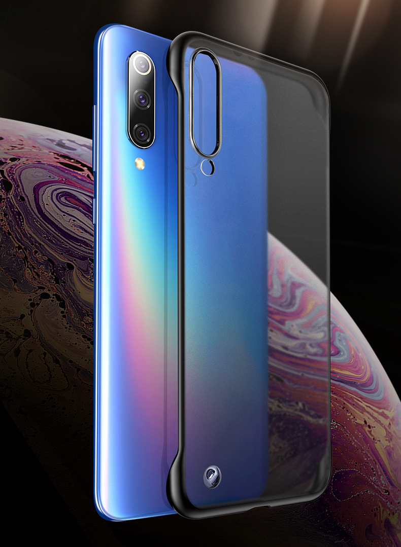 Bakeey Transparent Ultra Thin Anti Fall Matte Hard PC&Soft Edge With Finger Ring Protective Case For Xiaomi Mi 9 / Mi9 Transparent Edition