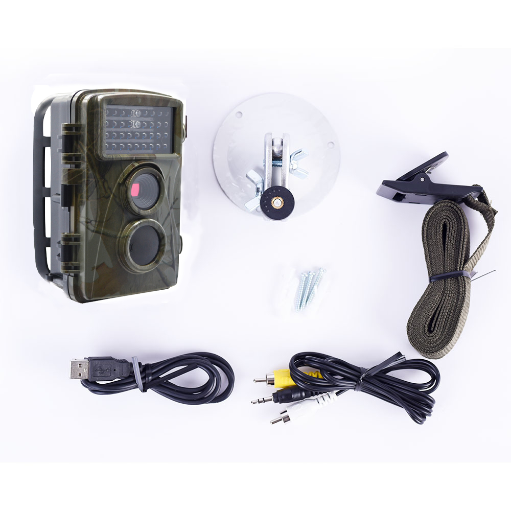 KALOAD Hunting Camera H3 Digital Trail Trap Wildlife LED Waterproof Video Recorder