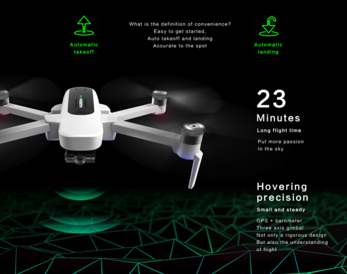 Hubsan H117S Zino GPS 5.8G 2.5KM FPV with 4K UHD Camera 3-Axis Gimbal RC Drone Quadcopter RTF