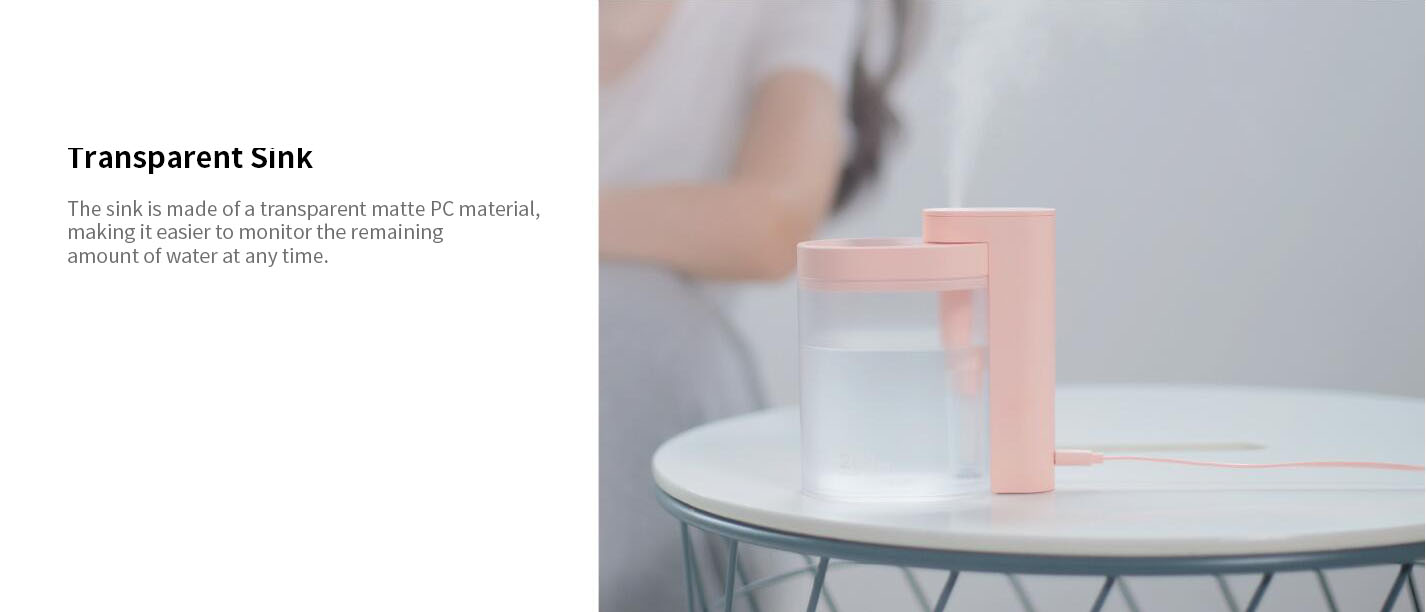 XIAOMI SOTHING Geometry Humidifier Electric Air Humidifier Water Nebulizer