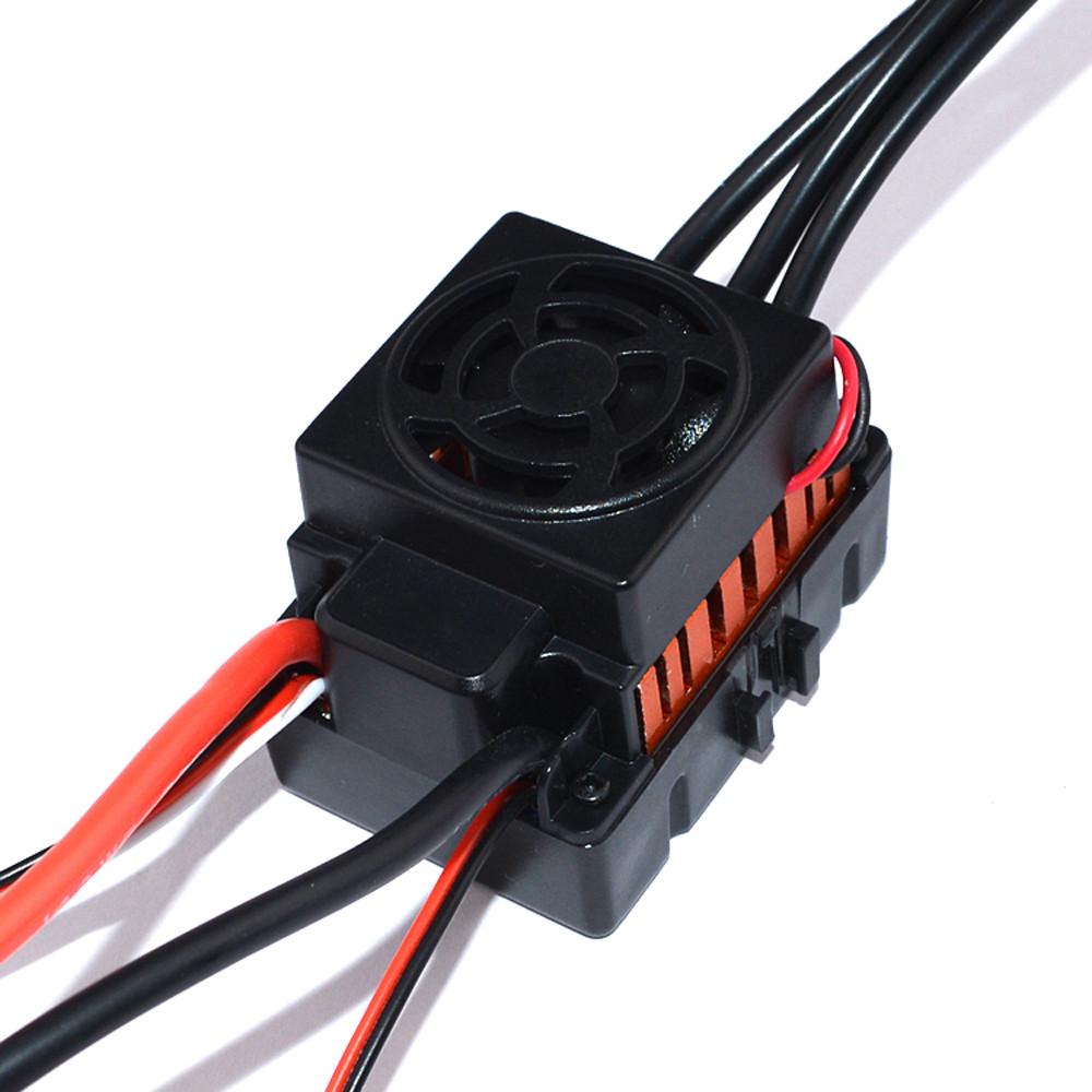 Surpass Hobby F540 Waterproof 4370KV Brushless Motor +45A ESC for 1/10 Rc Car Parts