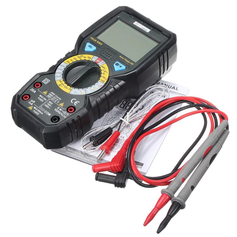 ADM08D LCD Digital Multimeter Voltmeter Ammeter Tester Meter Volt AC DC Current