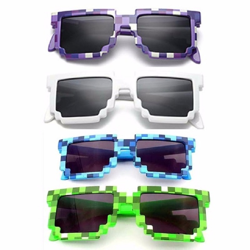 Children Square Glasses Fashion Style Sunglasses Kids Boys Girls Decoration Action Game Toys Party
