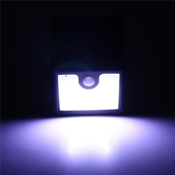Outdoor Solar Lights 1800LM COB Waterproof Motion Sensor Wall Lamp for Aisle Stair Security