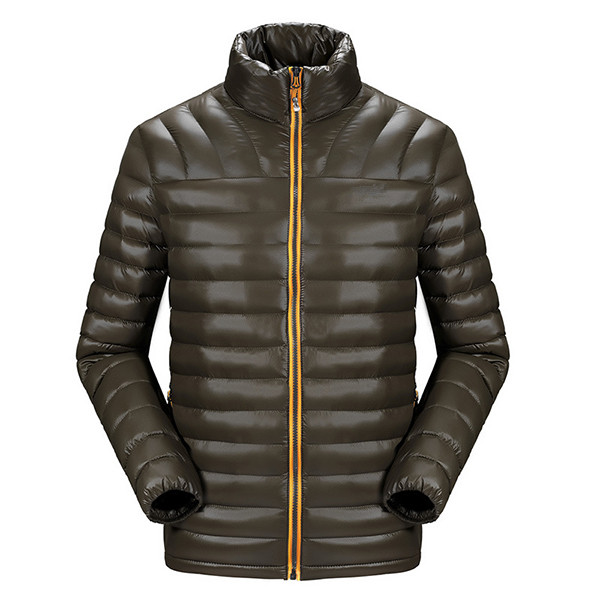 Mens Winter Outdoor Windproof Fashion Casual Thick Coat Slim Fit Padded Jacket