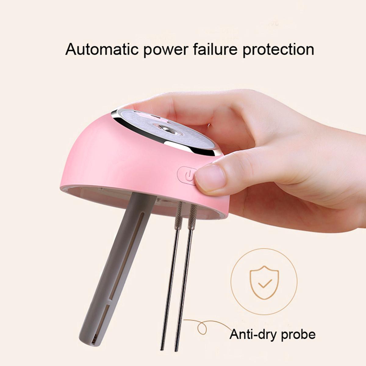 Air Purifier Mini Aromatherapy Humidifier Light Small Fan