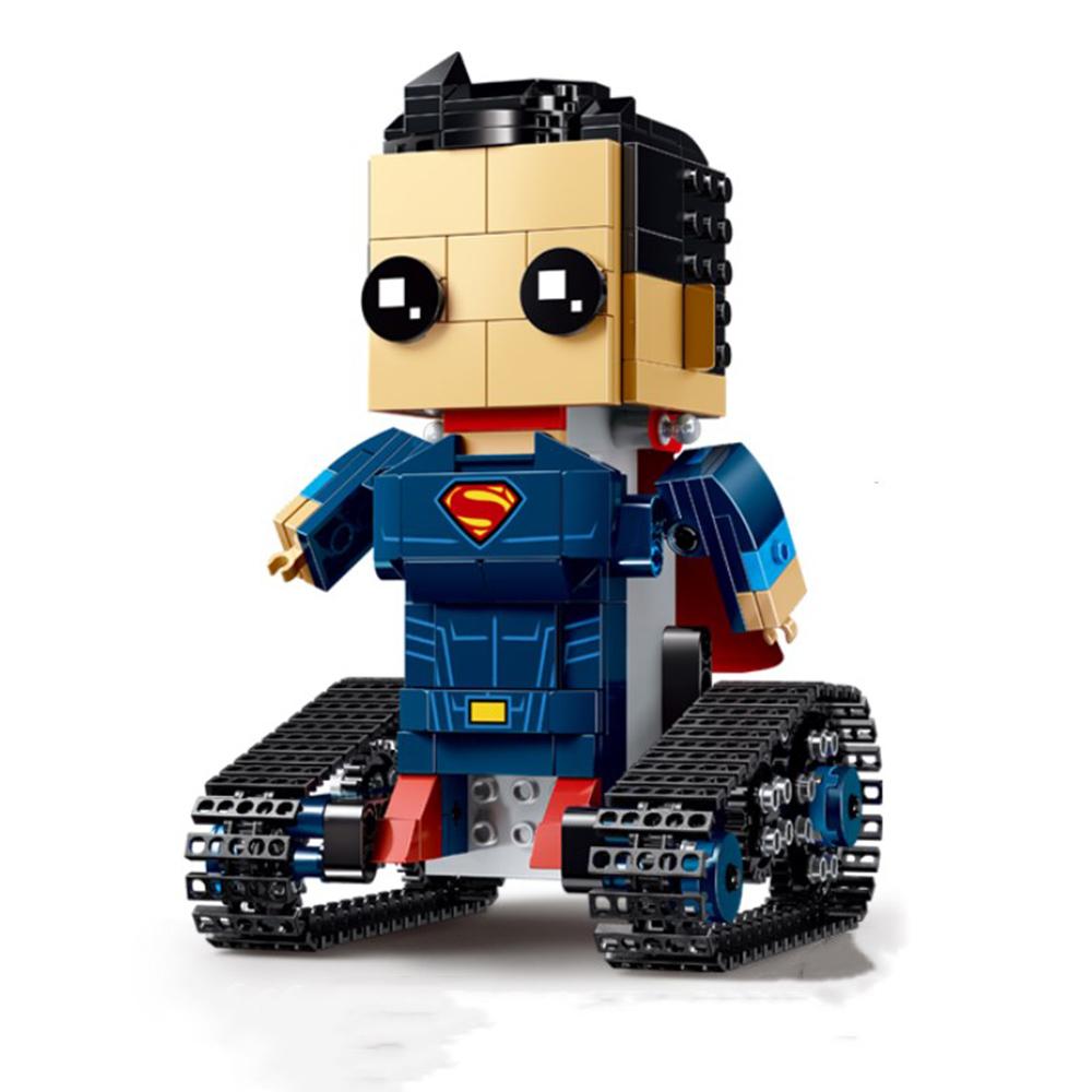 MoFun DIY 2.4G 4CH Electronic RC Smart Robot Block Building Assembled Robot Toy Gift
