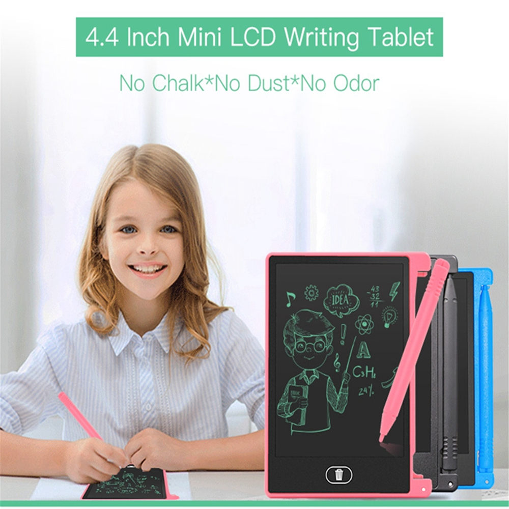 AS1044A Ultra Thin Portable 4.4 Inch LCD Writing Tablet Digital Drawing Handwriting Pads With Pen
