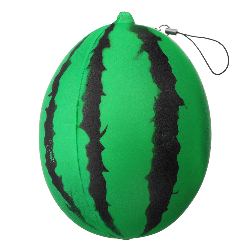 Squishy Watermelon 12cm Soft Sweet Slow Rising Phone Bag Strap Fruit Collection Gift Decor Toy