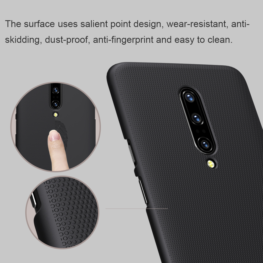 NILLKIN Frosted Shield Anti-scratch Hard PC Protective Case for OnePlus 7 Pro
