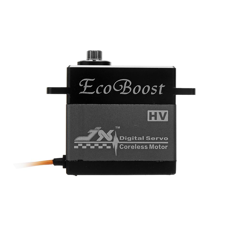 JX Ecoboost CLS6322HV 21KG Large Torque 180° CNC Aluminium Shell Metal Gear Digital Coreless Servo