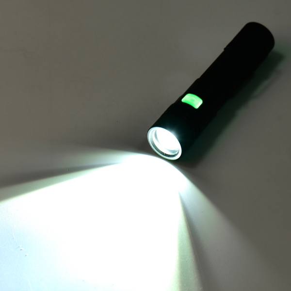 XANES 1301 T6 1500Lumens 5Modes USB Rechargeable LED Flashlight