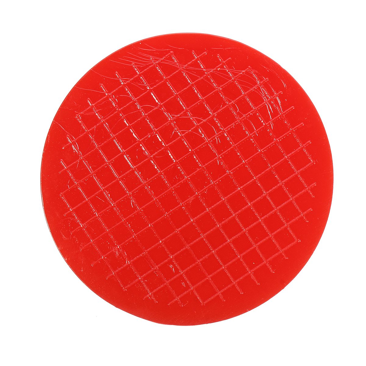 Universal Red Floor Jack Disk Pad Adapter For Pinch Weld Side Lifting