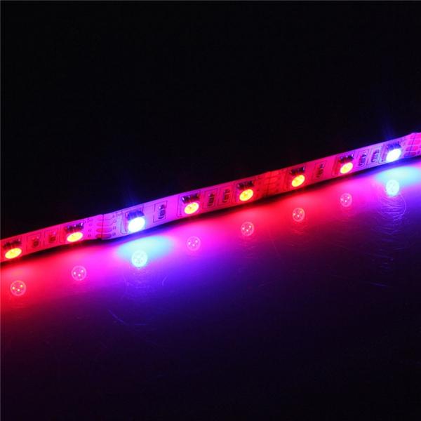 1M 2M 3M 4M 5M 3:1 5050 SMD LED Non-waterproof Hydroponic Plant Grow Strip Light DC12V