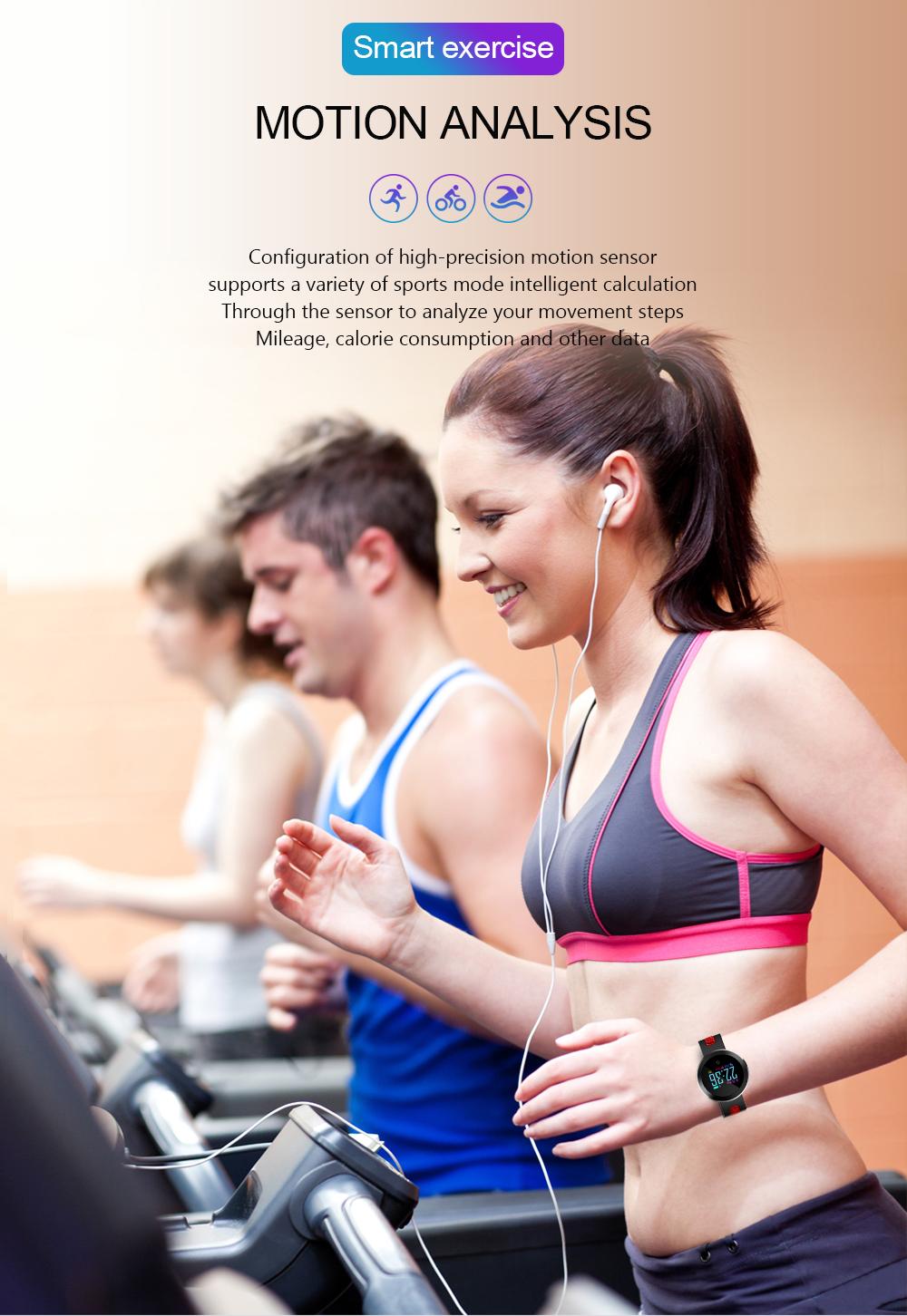 Q8 Pro Smart Watch Wristband Blood Pressure Heart Rate Monitor Sports Smart Wristband