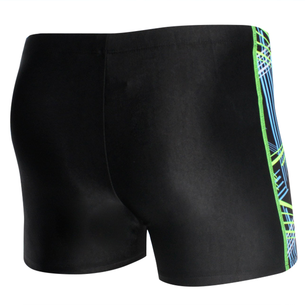 Mens Fashion Splicing Color Swimming Shorts Trunks Boxers Swimsuits
