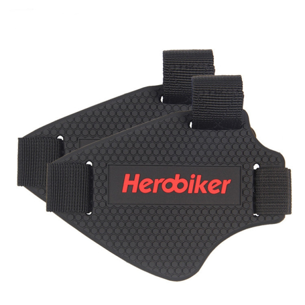 HEROBIKER Motorcycle Shifter Boot Shoes Cover Dirt Bike Shift Guard Protector Protective Gear Black