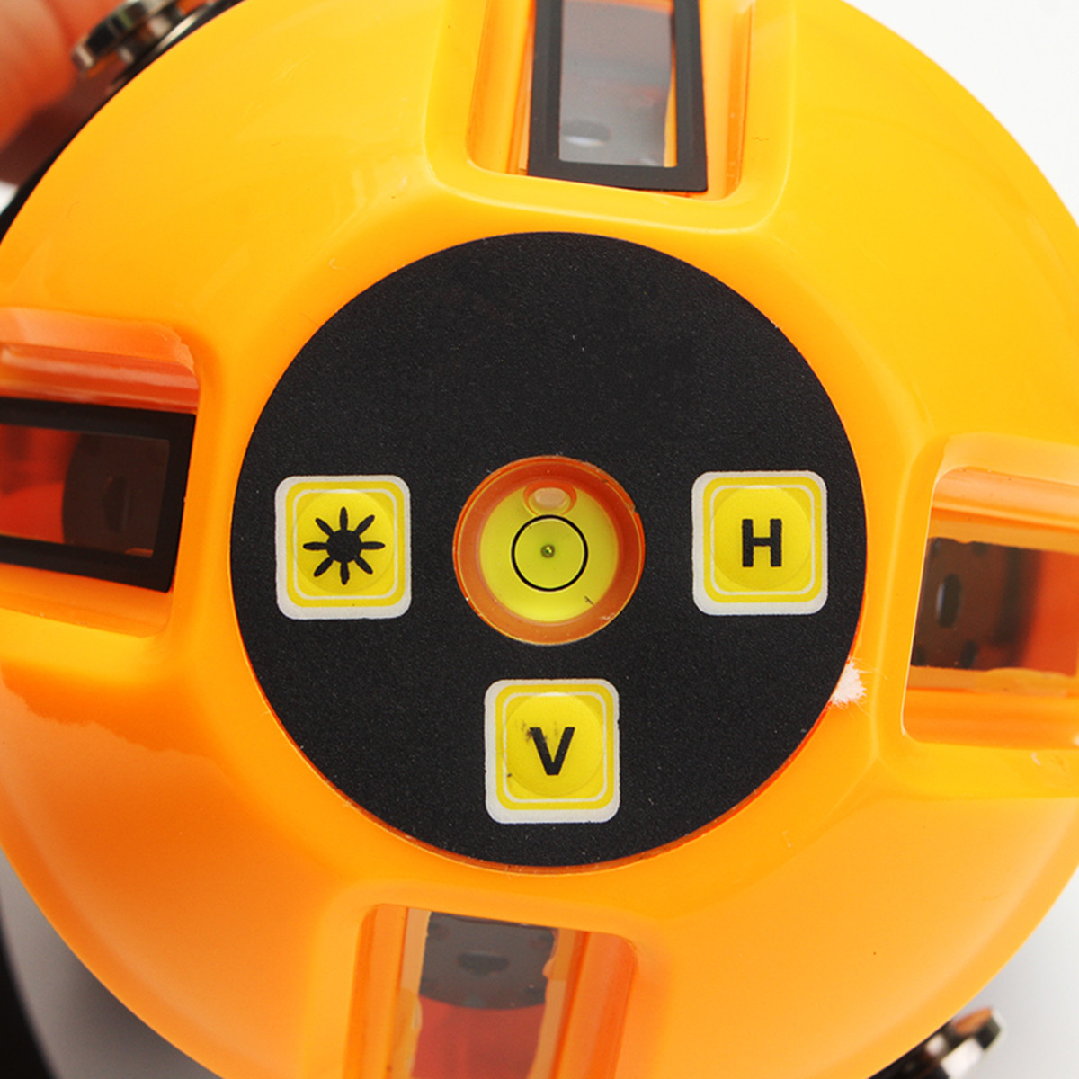 Yellow Automatic Self Leveling 5 Lines 6 Points 4V1H Laser Level Measure