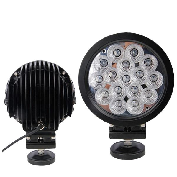 80W 9600LM 6000K Combo Spot Flood Driving LED Work Lights For Offload SUV Truck OVOVS OL-080 Without Lampshade