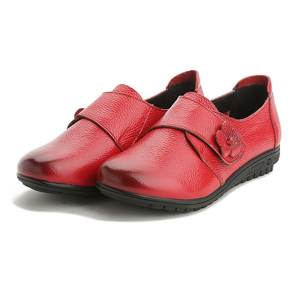 Women Leather Flat Loafers
